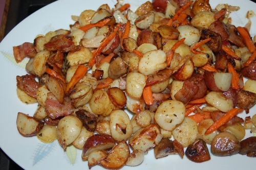 Delicious roasted vegetables..