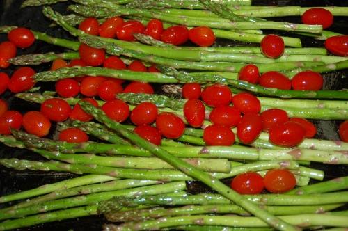 As are asparagus!