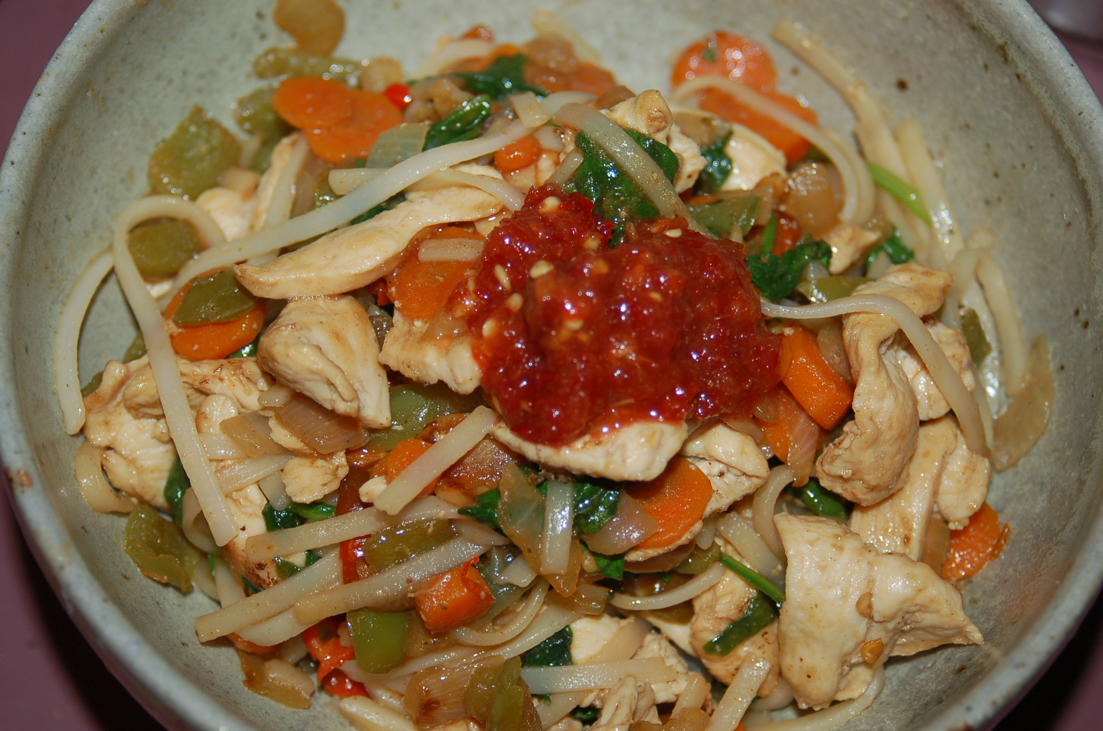 Garlic Chicken Stir Fry With Noodles The Best Rice Noodle Stir-fry