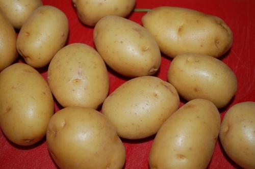 I love little potatoes.