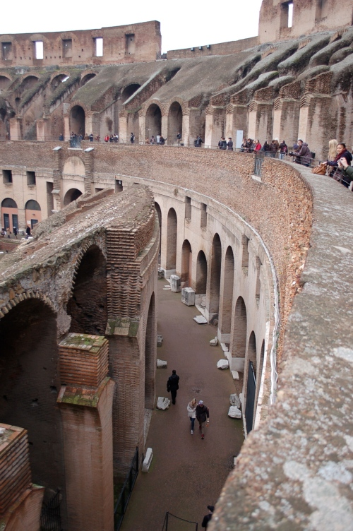 how could I deprive you of this inside view of the most impressive arean in the world; The Colosseum.