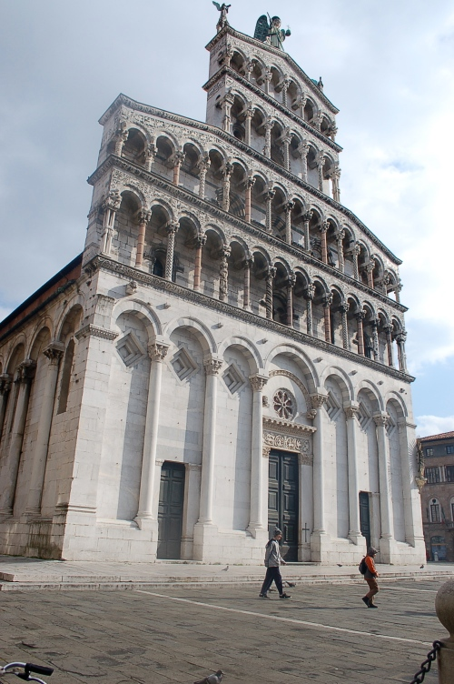 Romanesque church of in Lucca