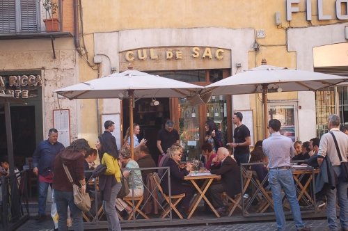 Cul de Sac restaurant in Rome