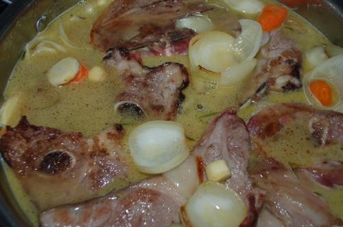 Gigot Chop Lamb Stew (serves 6)