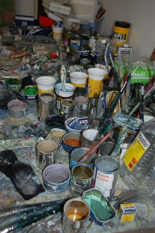 Paint in the Studio (presumbly organised)