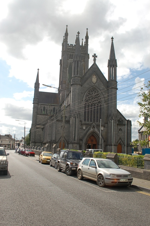 The impressive St Mary's Cathedral on James St.