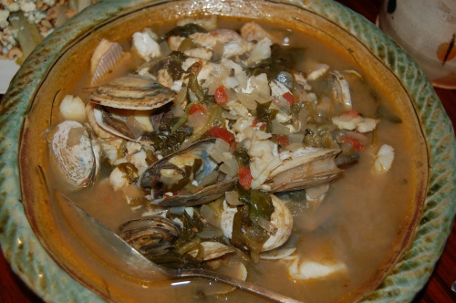 Marvelous Mixed Fish Stew with Friends
