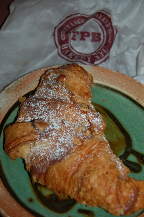 The best almond croissant i have ever had the pleasure to eat!