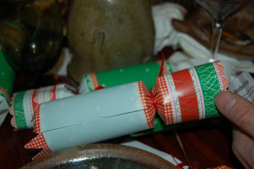 dessert would not be complete without Christmas Crackers!