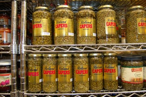The capers were easy to find!