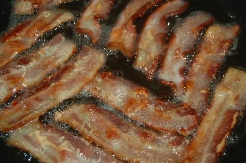 Fry bacon