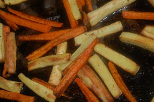 lovely parsnip & carrot fries