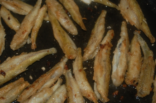Crispy Lemon Fried Smelts