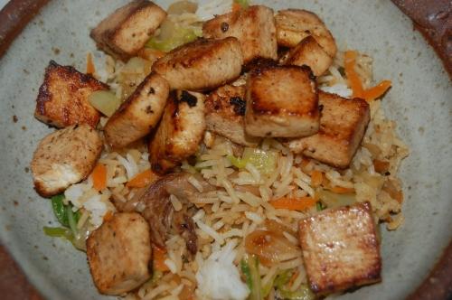 Dynamite Tofu Stir-Fry