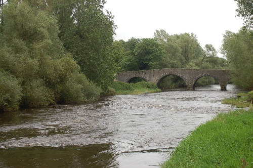 The river Barrow at Milford, County Carlow