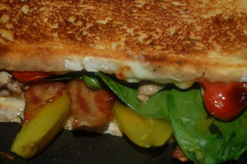 pickles, a must ingredient in a cuban Sandwich