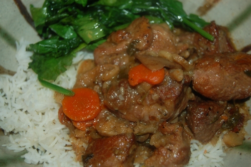 Rich Chipotle pork Stew