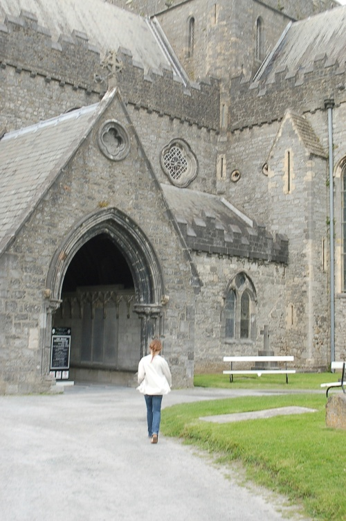 Entering St Canice's