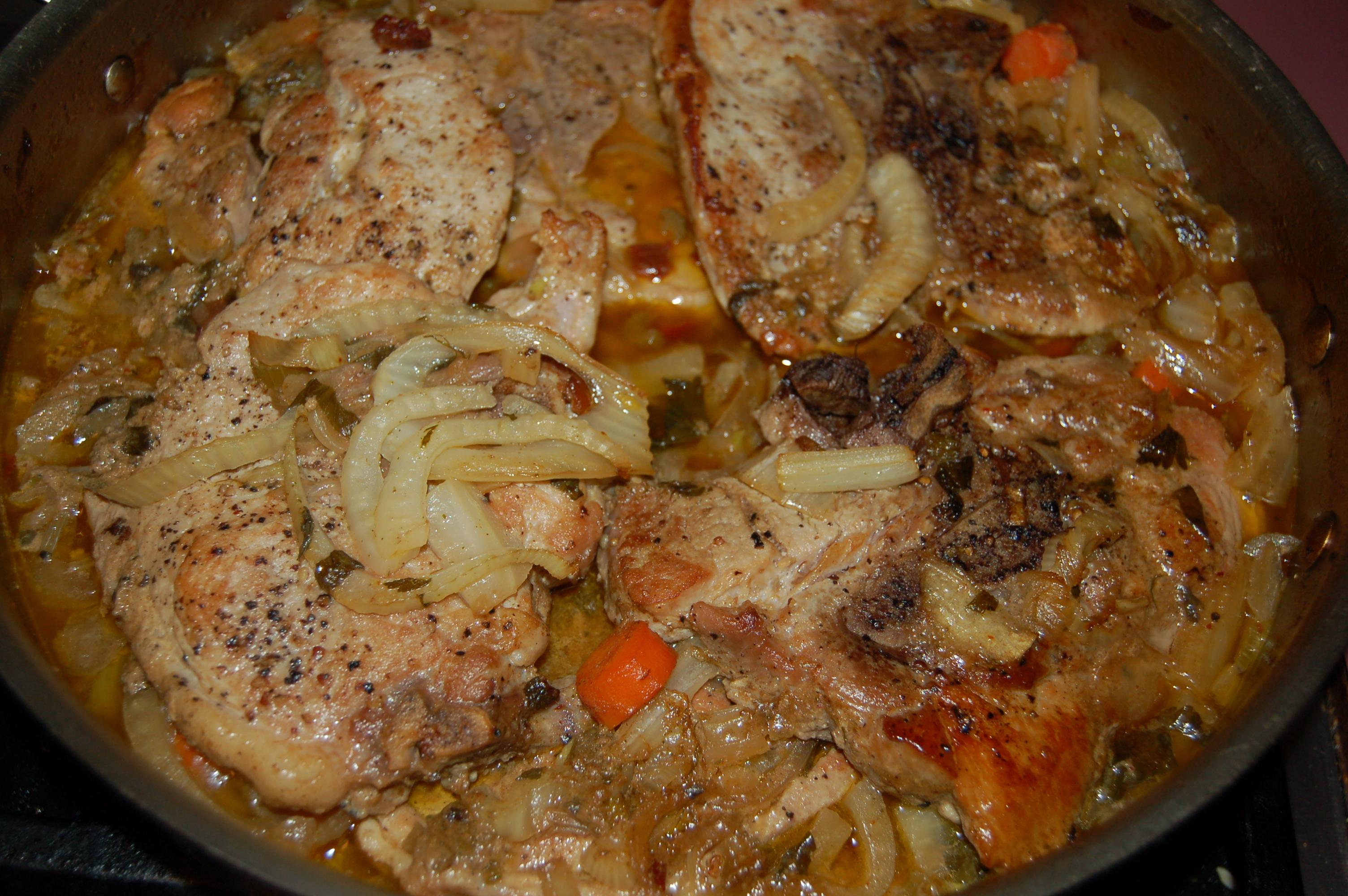 baked pork chops oven