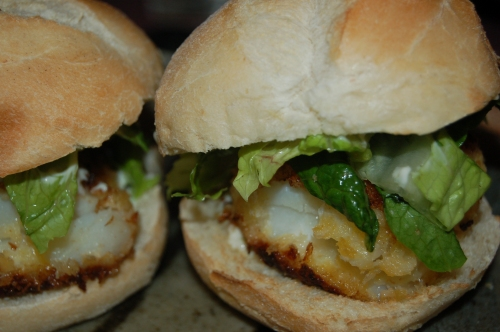 Asian-Style Fish Sliders