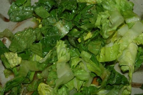 make green garnish