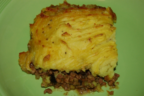 A different kind of Shepherd's Pie