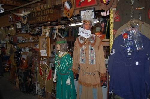 An Aisle at renniger's Market