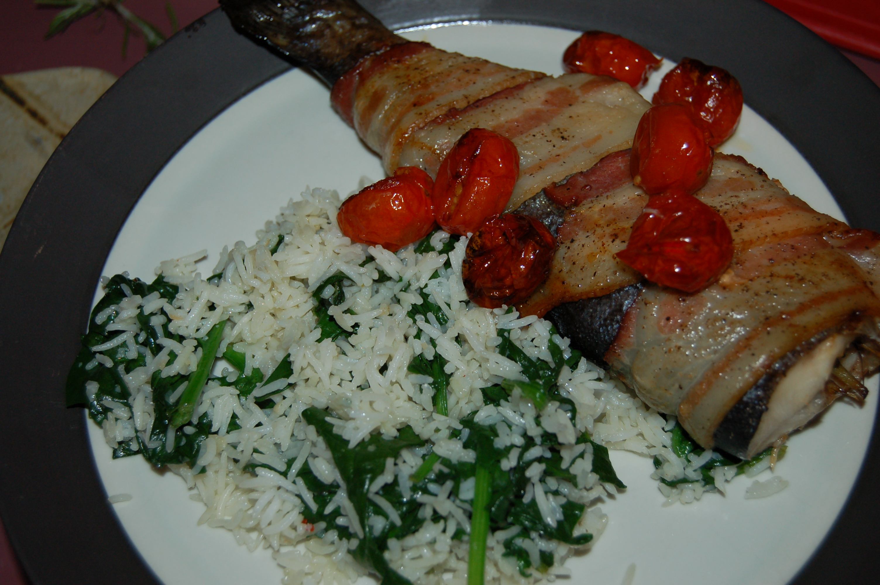 how to cook baked trout