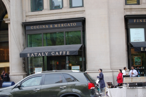 Across from the Flatiron is lovely Eataly; one of my destinations this past monday
