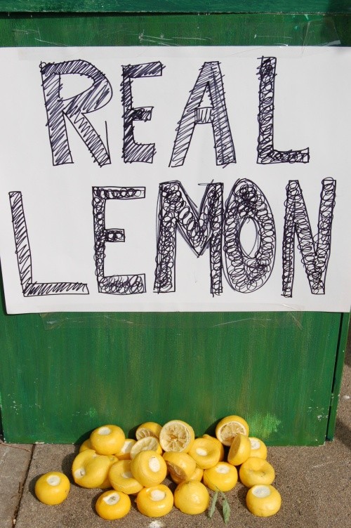 Made with real lemons!