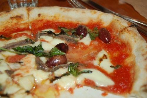 Pizza in Eataly
