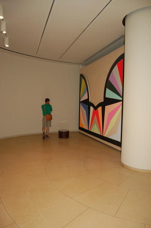 Frank Stella painting