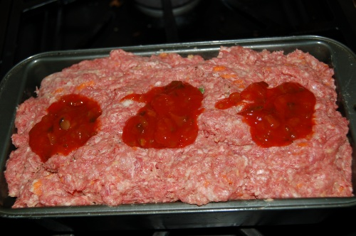 Assemble meatloaf