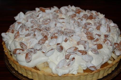 Add almonds and serve!