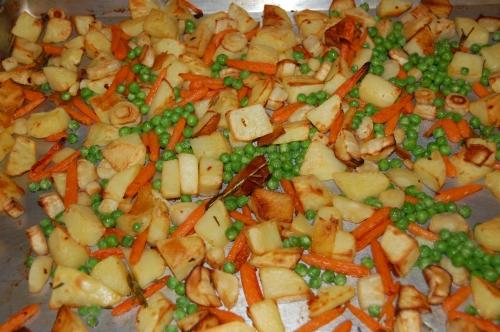 Lovely roasted veggies