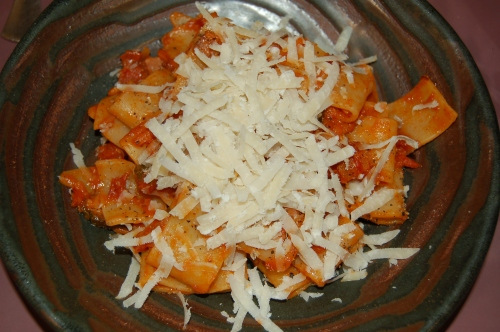 serve with parmiagiano reggiano