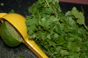 lime and cilantro - the perfect combinations of freshness!
