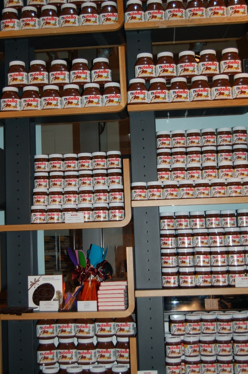 Walls of Nutella!!