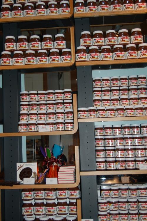 Walls of Nutella!!