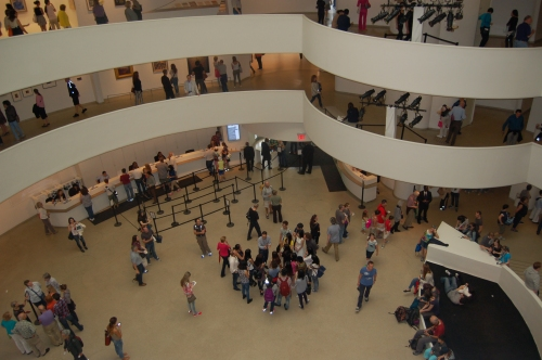 Inside The Solomon R. Guggenheim Museum