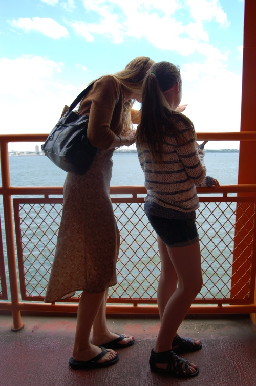 Riding the Ferry