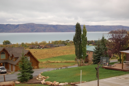 Bear Lake (the view from the balcony)