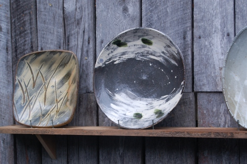 Wood-Fired Platters by Bandana Pottery