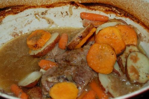 Gigot Chop or lamb shoulder chop stew