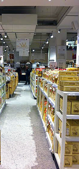 One of the Pasta Aisles in Eataly -