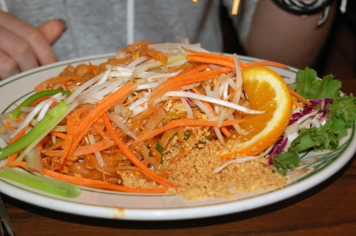 Our favorite place to eat was Thai Orchid for thier Pad Thai
